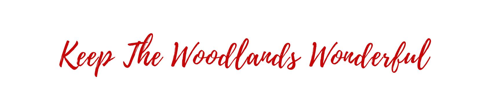 Keep The Woodlands Wonderful logo